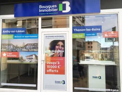 Bouygues Immobilier – Thonon – Enseignes