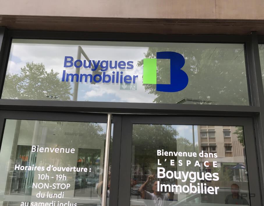 Marketing immobilier espace de vente Bouygues Immobilier vue détaillée