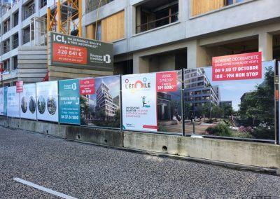 Bouygues Immobilier – L'Etoile – Palissade