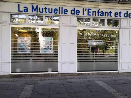 MAE – Nantes – Vitrophanie confidentialité