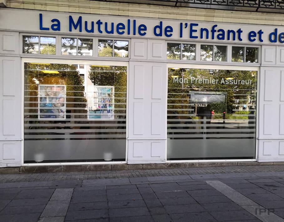Signalétique de confidentialité MAE Nantes vue d'ensemble de l'agence