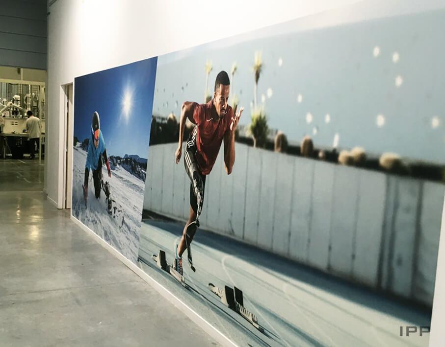 Décor mural tapisserie CHABLOZ vue d'ensemble