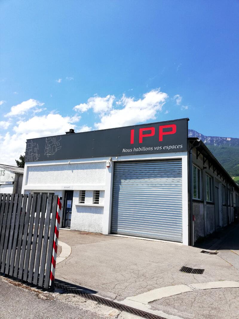 Devanture atelier IPP à Seyssins